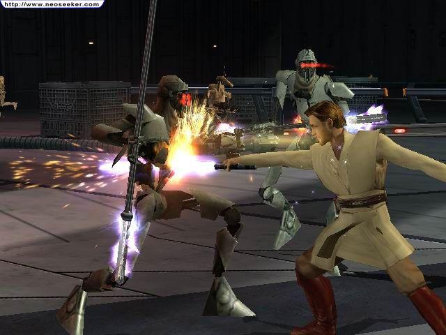 Star Wars Revenge Of The Sith Screenshot