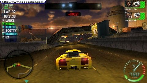 Need For Speed Carbon Own The City Screenshot