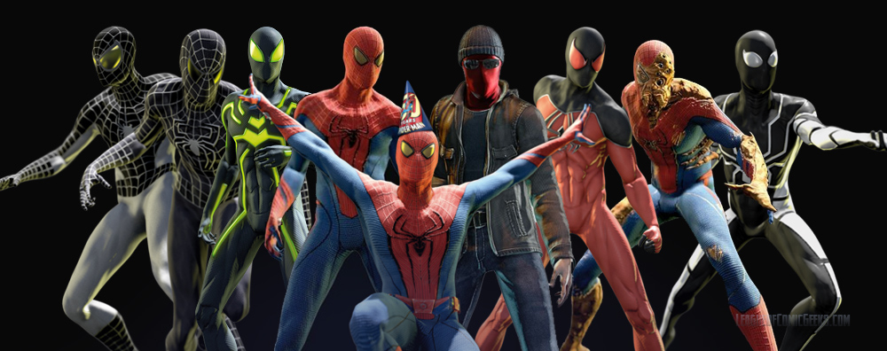 (Itu0027s only seven of them but it is a nice montage.) & Big Time Suit revealed - The Amazing Spider-Man Forum - Neoseeker Forums