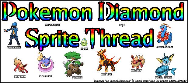 Pokemon Diamond Spritetc Thread Liii Pokémon Diamond Forum